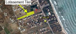 Photos sur la localisation des lotissements Tilel par kahloun immobilière