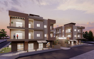 Photos sur l'entré de la Résidence Tilel par kahloun immobilière